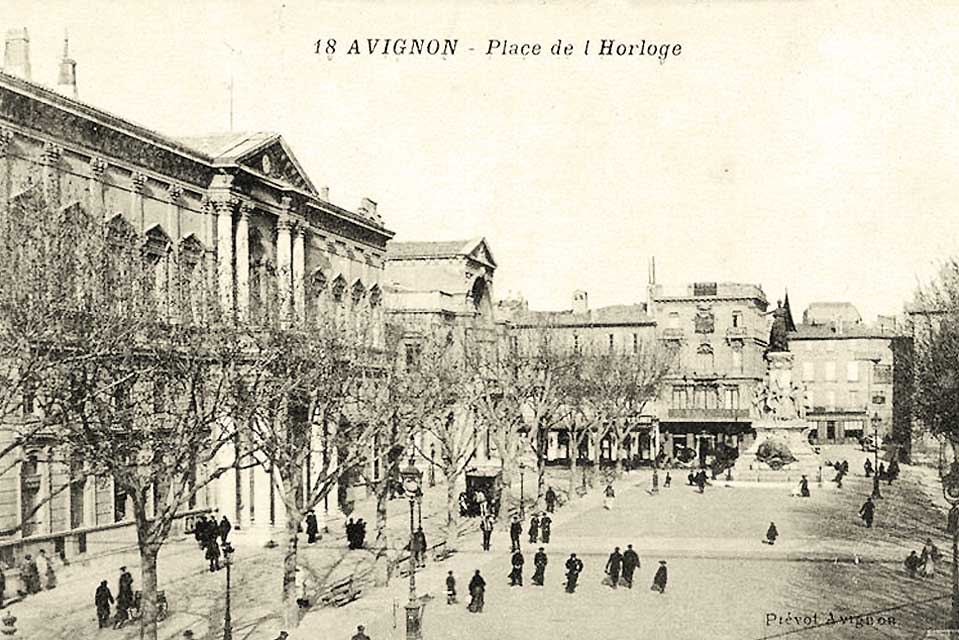 Place_de_l'Horloge en 1916