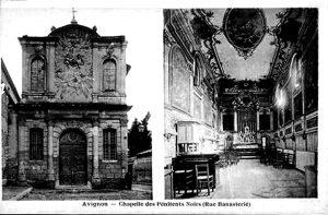 Banasterie, Chapelle des Pénitents noirs