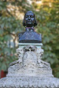 Buste de Guillaume Puy par JM Rosier