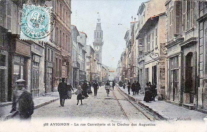 Rue Carreterie en 1908