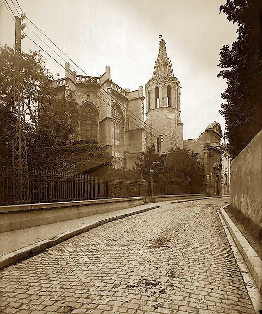 Rue Jean-Henri Fabre dans les années 1930