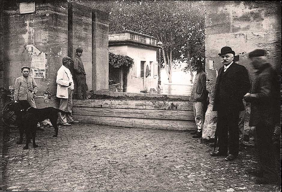Les batardeaux au début du XXe