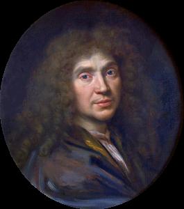 Molière par Pierre Mignard en 1658