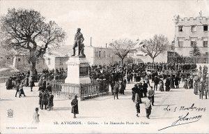 Place du Palais, début XXe siècle