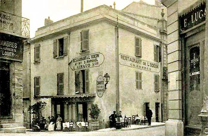 Avignon, rue Joseph Vernet, date inconnue
