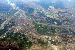 Avignon vue aérienne