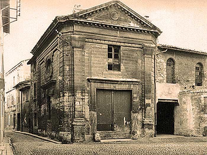 La chapelle des pénitents violets, date inconnue