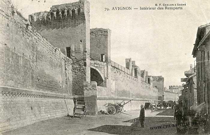 Le rempart Saint-Lazare, date inconnue