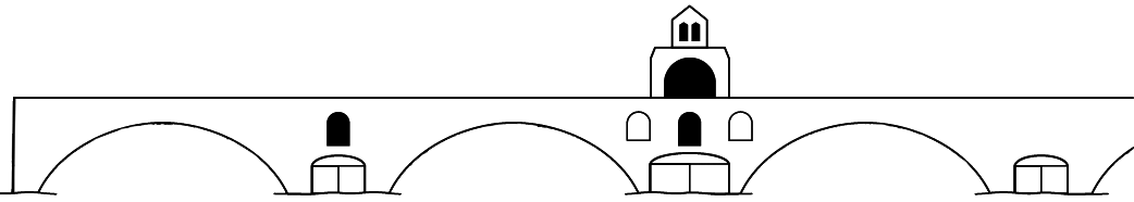 Dessin du Pont d'Avignon