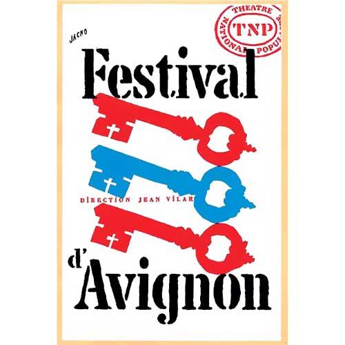 Festival d'Avignon affiche
