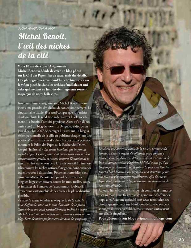 Le blog de Michel Benoit